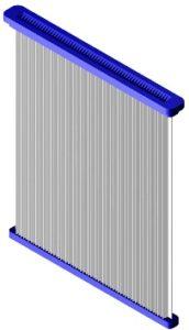 плоская кассета фильтра пылеуловителя резки сварки